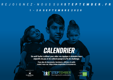 STEPtember calendar