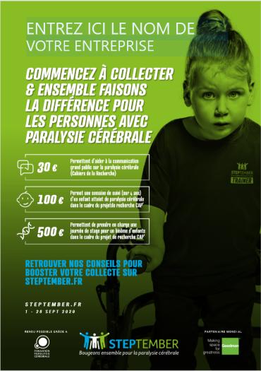 Editable Poster - Start Fundraising