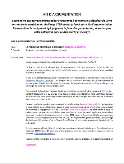 STEPtember Presentation - Email