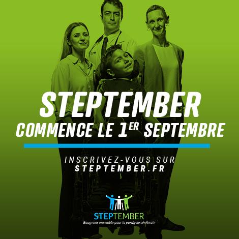 Social Post - STEPtember starts 1st Sept